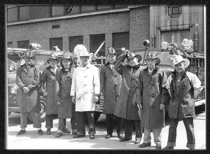 1940's firefighters Bellevue
