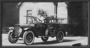 DFD Fire Truck circa 1800s
