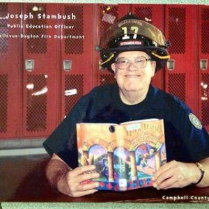 Fireman Joe reading